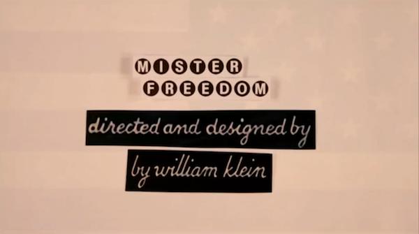 Photo of MR.FREEDOM de William Klein.