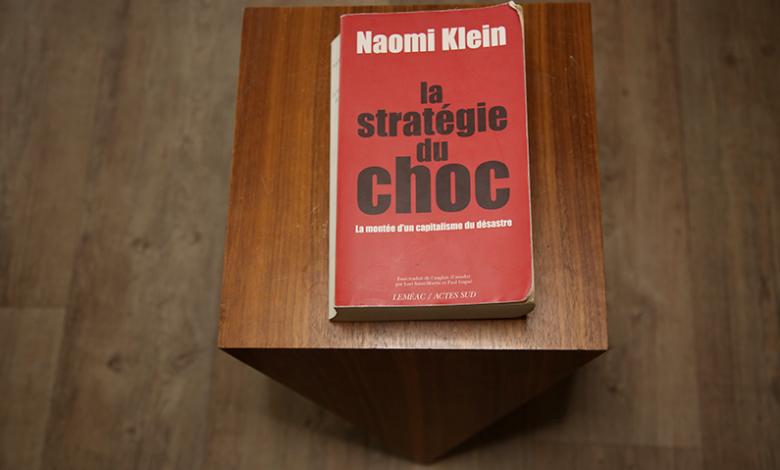 Photo of La stratégie du choc de Naomi Klein // Le livre